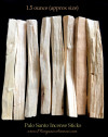 palo santo incense smudge sticks 1.5oz