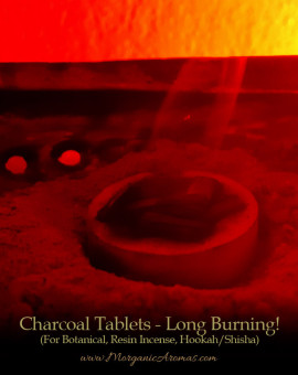 burning charcoal incense tablets longest burning best quality