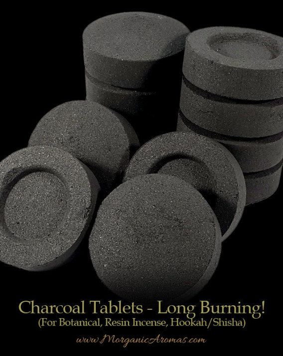 charcoal incense tablets longest burning best quality