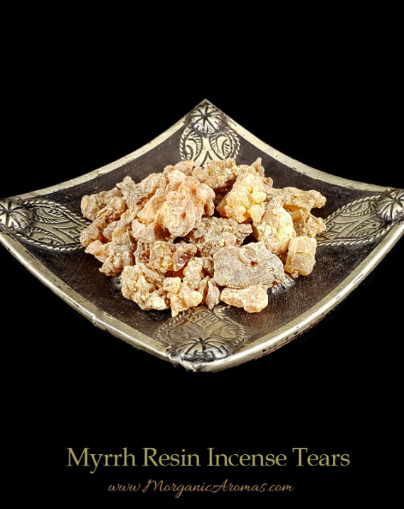 hiqh quality myrrh tears resin incense