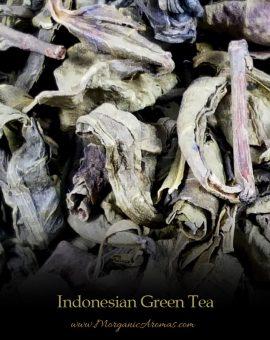 rare indonesian loose leaf green tea
