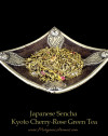 japanese sencha kyoto cherry rose green tea loose leaf