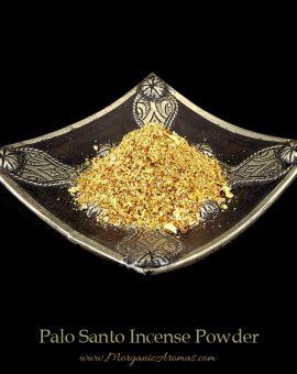 palo santo incense powder