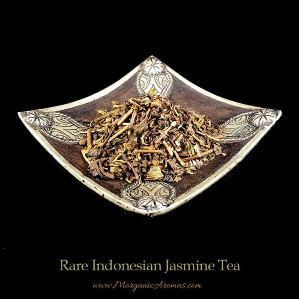 rare indonesian jasmine tea loose leaf