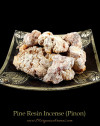 pine tree resin incense pinon chunks
