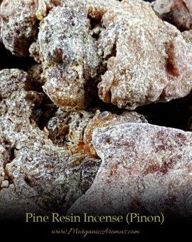 pine tree resin incense pinon chunks