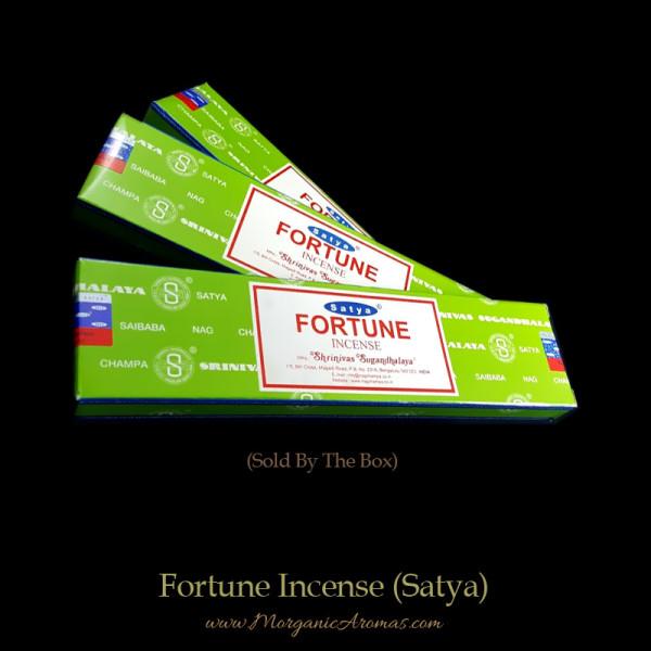 Fortune Incense Sticks, Satya Nag Champa, India, Saibaba