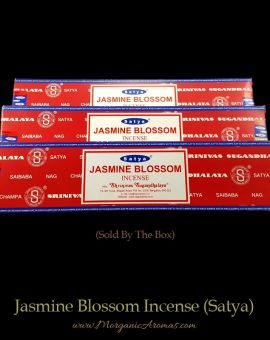 Jasmine Blossom Incense Sticks, Satya Nag Champa, India, Saibaba