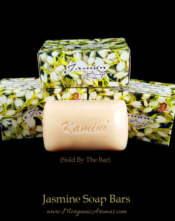Jasmine Incense Fragrance Natural Soap Bars, Kamini
