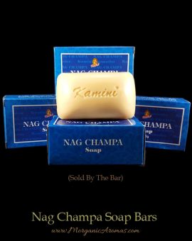 Nag Champa Incense Scented Natural Soap Bars, Kamini