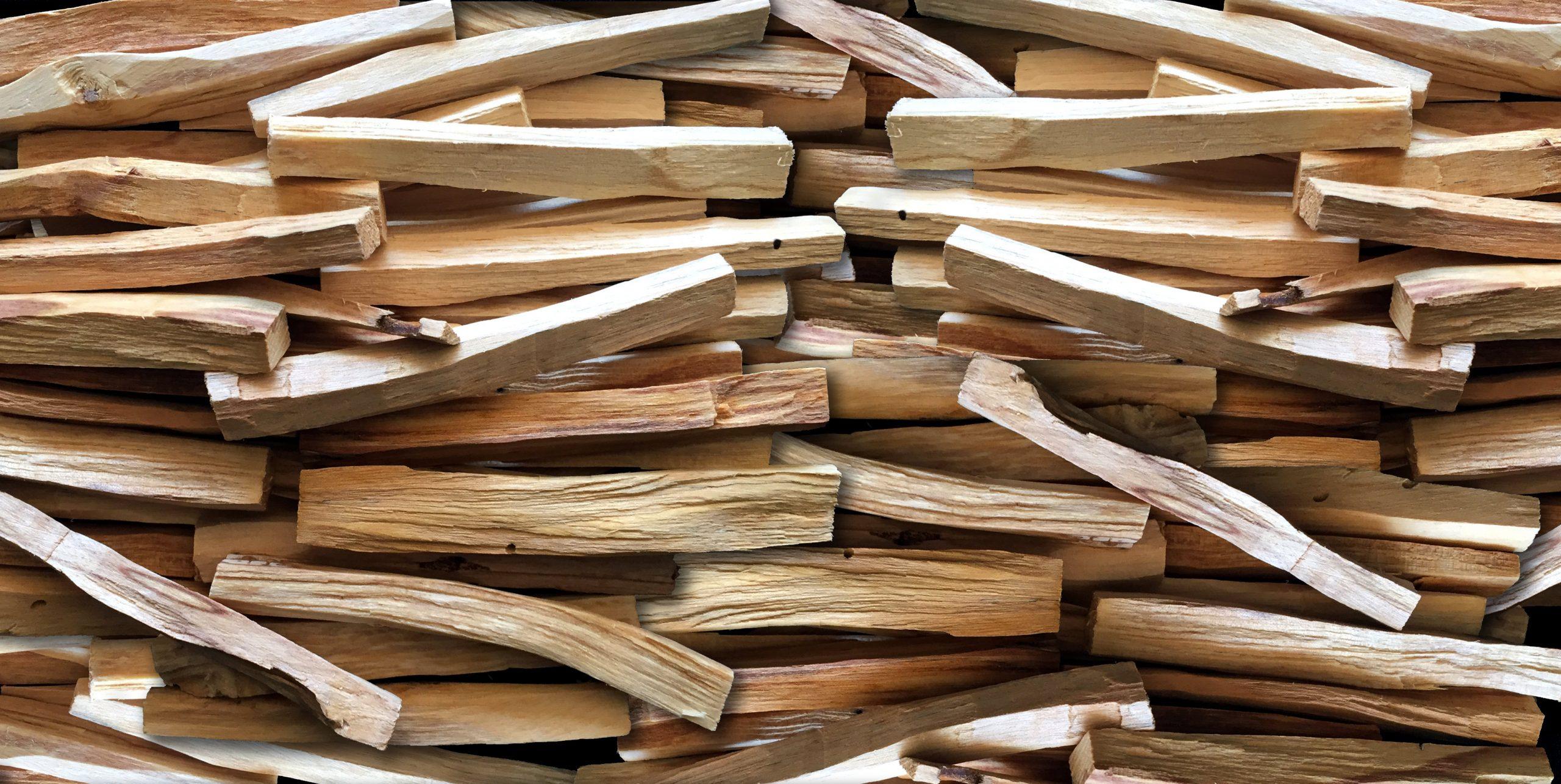 Organic Assorted Palo Santo Incense Sticks, Powder, Cones, Wood