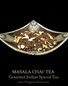 Masala Chai, Gourmet Spiced Indian Black Tea, Flavors of Cloves, Cardamom, Peppery...