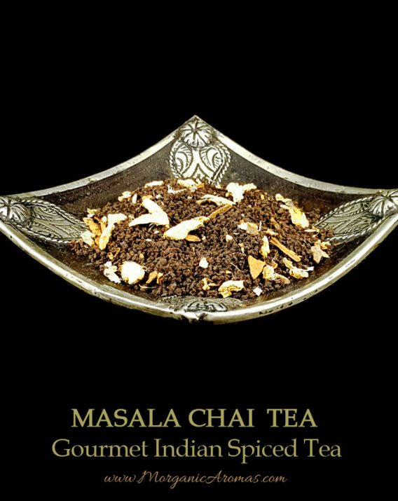 Masala Chai, Gourmet Spiced Indian Black Tea, Flavors of Cloves, Cardamom, Peppery...