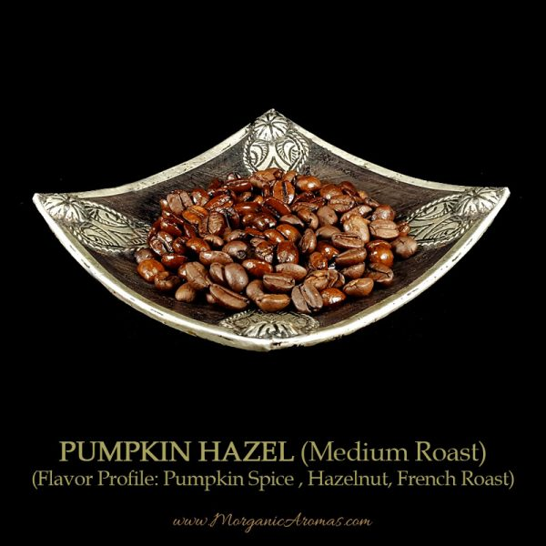 Pumpkin Hazel, Medium Roast, Pumpkin Spice, Hazelnuts, French Roast, Flavored Coffee